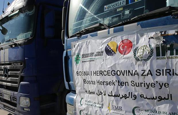 Najveći konvoj humanitarne pomoći iz BiH na putu prema Siriji