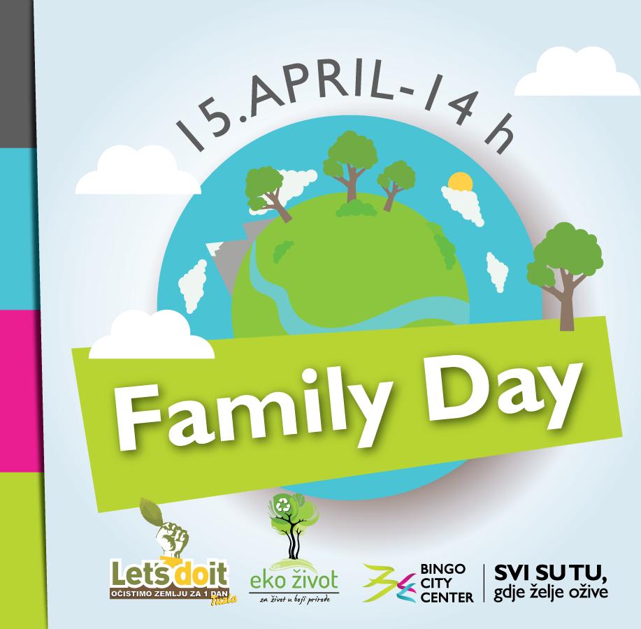 """""""Let's Do It Tuzla"""", Eko život i Bingo City Center organizuju Family Day"""