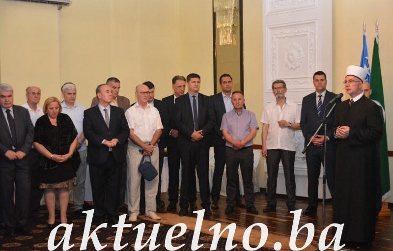 Bajramski prijem muftije tuzlanskog Vahid ef. Fazlovića (FOTO)