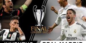 Finale nogometne Lige šampiona: Juventus protiv Real Madrida