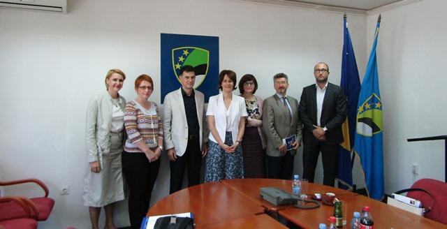 """Početak implementacije Twinning light projekta """"Jačanje kapacijeta kantonalnih skupština u procesu EU integracija"""""""