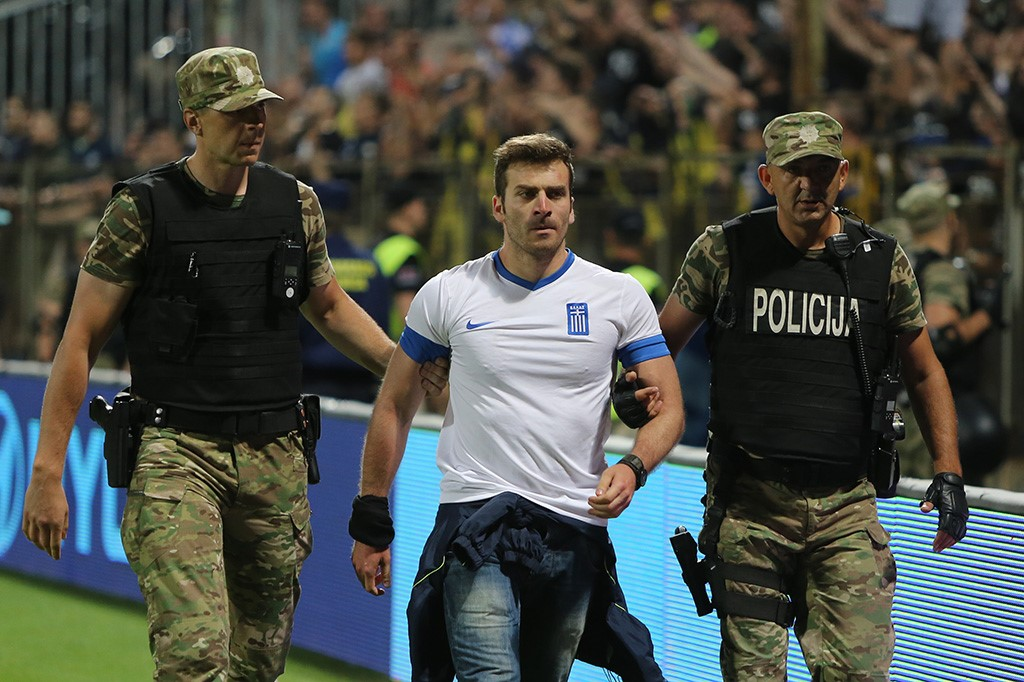 Nemile scene nakon duela BiH i Grčke (FOTO)