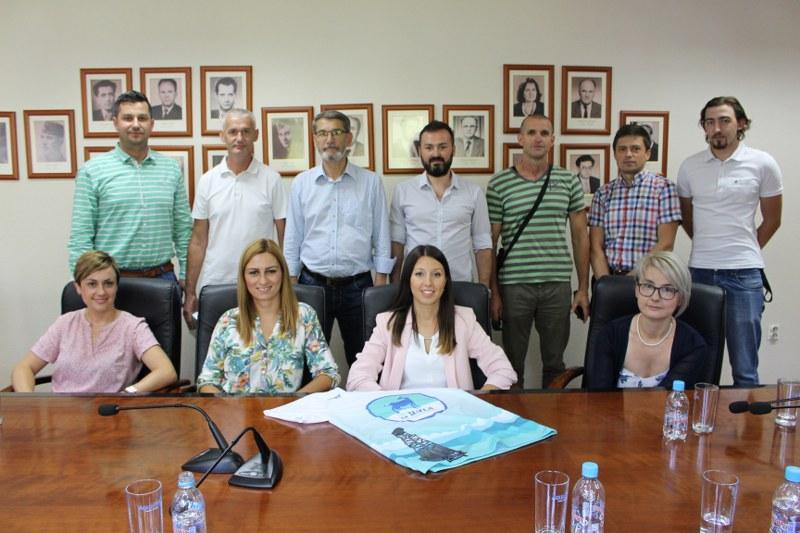 Gradonačelnik Jasmin Imamović primio delegaciju ARK Rekreativci Tuzla