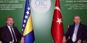 Susret Izetbegovića i Erdogana u Kazahstanu