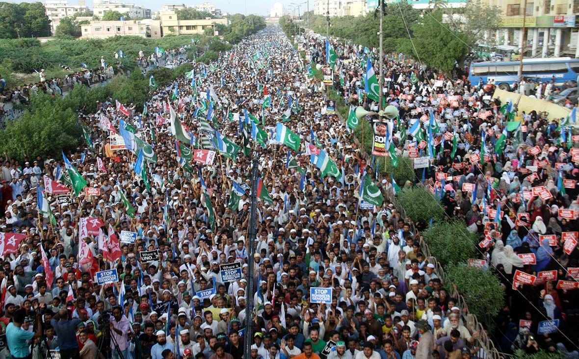Pakistan: Hiljade građana na skupu podrške Rohinjama