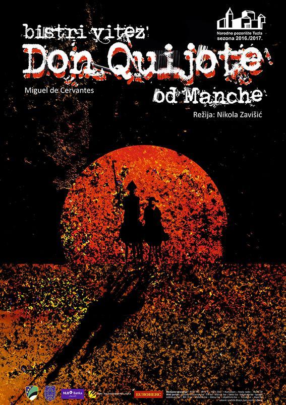 Narodno pozorište Tuzla: Bistri vitez Don Quijote od Manche