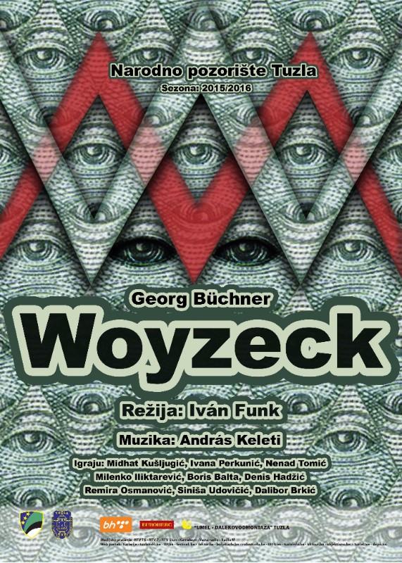 "Na repertoaru Narodnog pozorišta Tuzla ""Woyzec"" i ""Budala na večeri"""