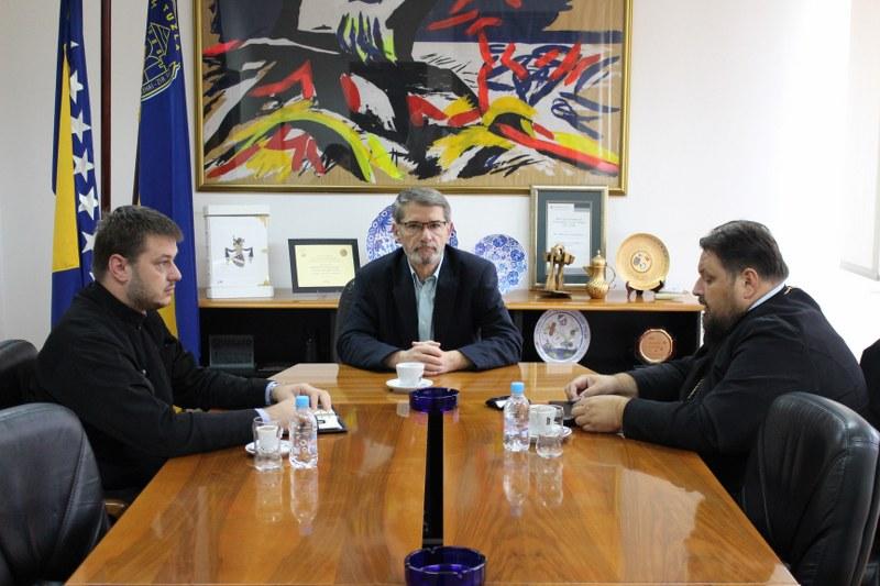 Gradonačelnik Tuzle se sastao sa predstavnicima Srpske pravoslavne crkve