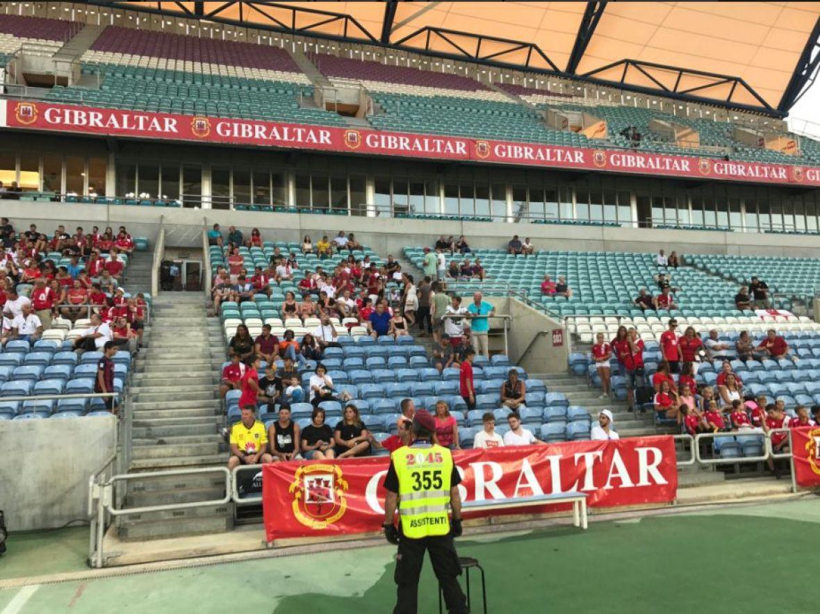 Gibraltar – BiH: Svega 805 navijača promatralo utakmicu