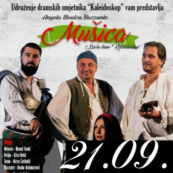 """Dani komedije u BKC-u: Večeras """"Mušica"""" u režiji Mustafe Sušića"""