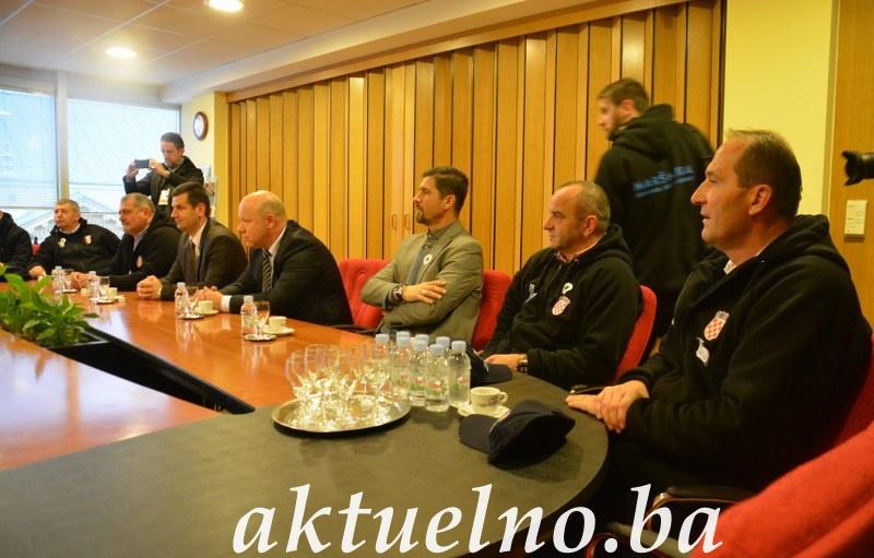 Gradonačelnik Vukovara upriličio prijem za delegaciju iz Srebrenice