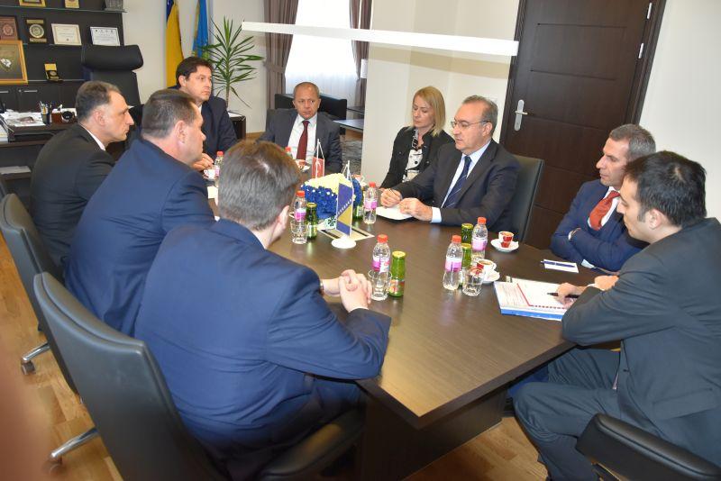 Ambasador Republike Turske posjetio premijera Tuzlanskog kantona