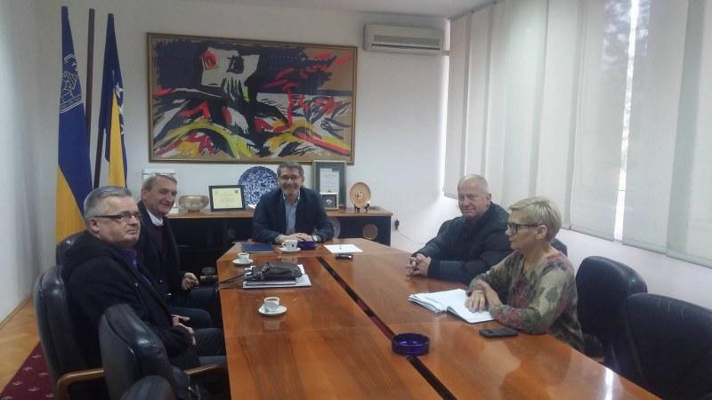 Gradonačelnik Tuzle održao sastanak sa članovima UG Manevarac
