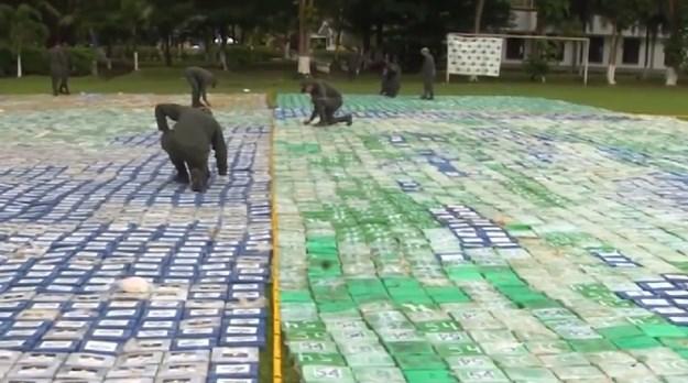 Kolumbijska policija zaplijenila 12 tona kokaina vrijednog oko 360 miliona američkih dolara