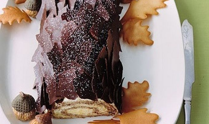 Božićni panj – čokoladni kralj blagdanskog stola