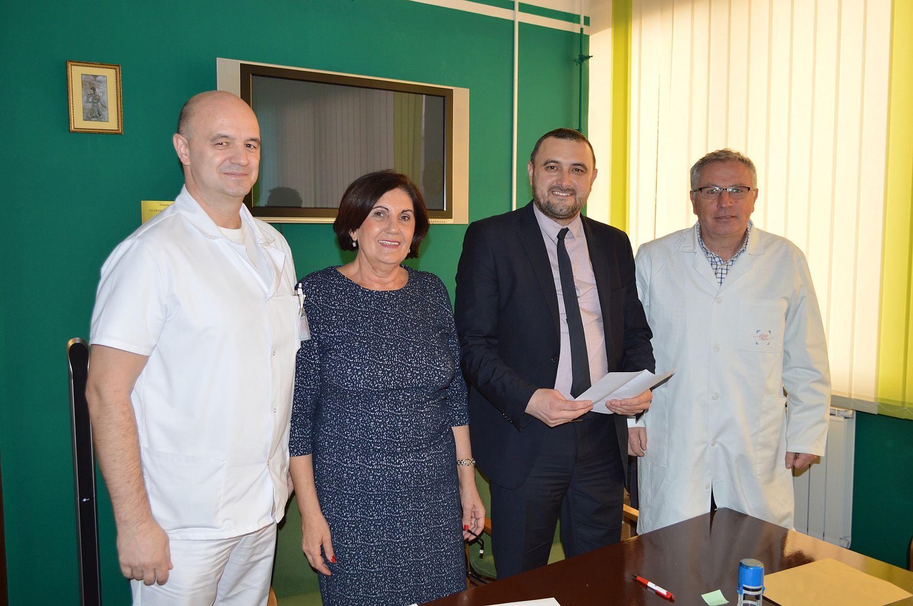 Psihosocijalna podrška pacijentima Odjeljenja za hematologiju i onkologiju Klinike za dječije bolesti