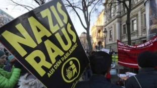 Protest u Beču uoči polaganja zakletve nove vlade