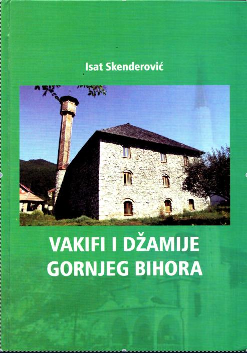 Najava promocije knjige Vakifi i džamije Gornjeg Bihora