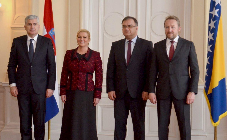 Hrvatska predsjednica danas u Sarajevu