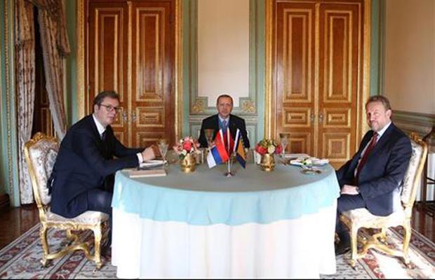 Istanbul: Završen sastanak  Erdogan-Izetbegović-Vučić