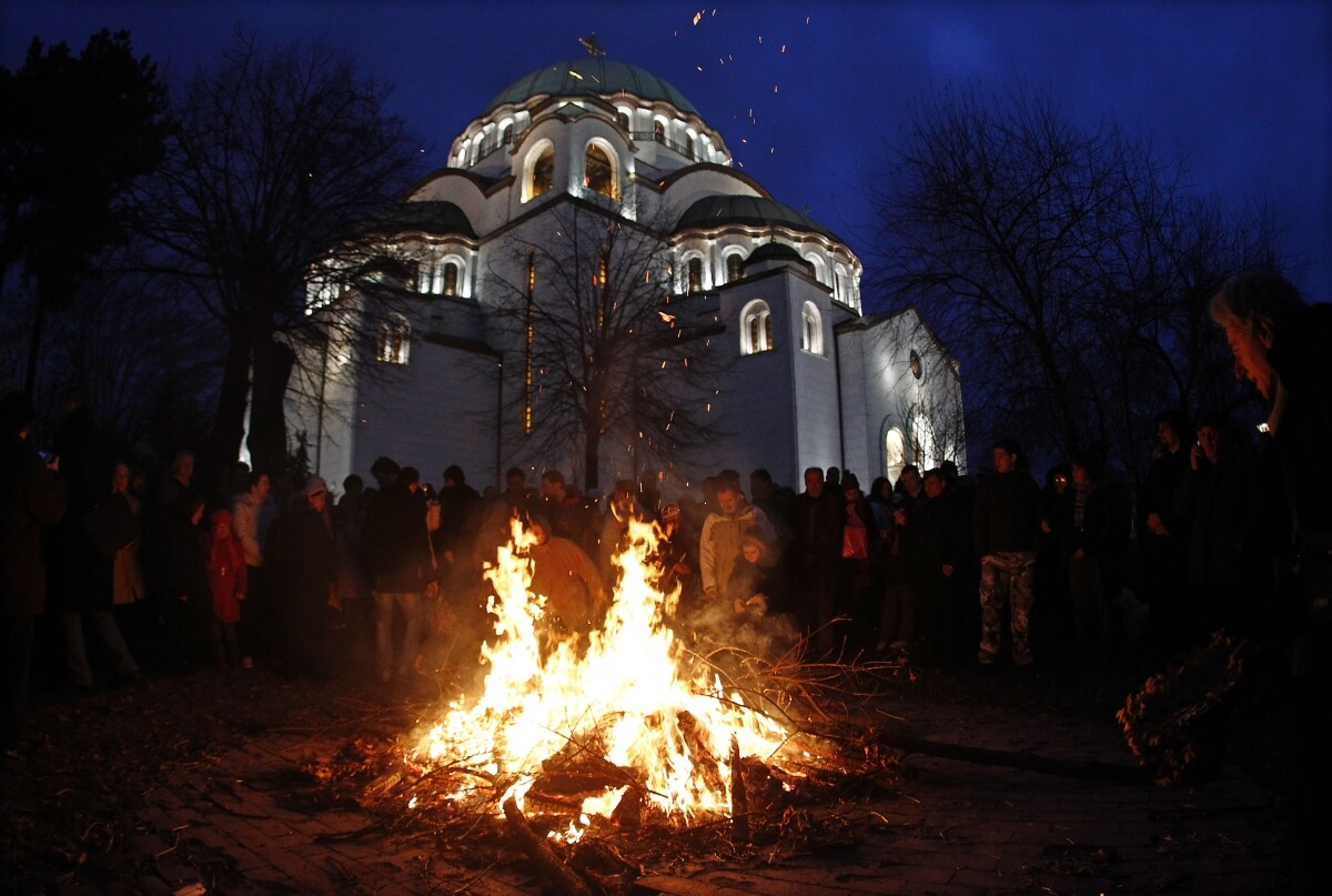Pravoslavna crkva: Danas je Badnji dan
