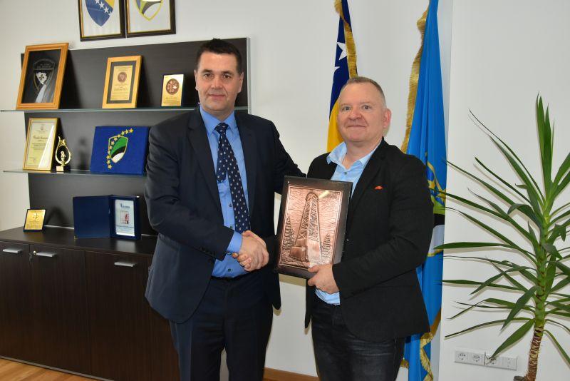 Pohvale ICITAP-a za rad i djelovanje policije Tuzlanskog kantona