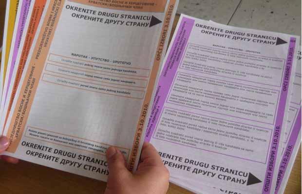 CIK: Imenovane komisije za pripremu tendera za štampanje glasačkih listića