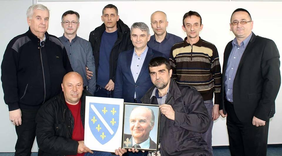 Ministar Bukvarević sa predstavnicima Koordinacije maloljetnih dobrovoljaca ARBiH