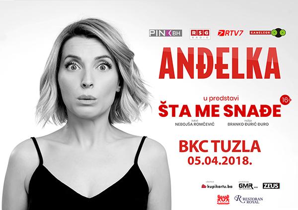 """Anđelka Prpić sa predstavom """"Šta me snađe?"""" 5. aprila u Tuzli"""
