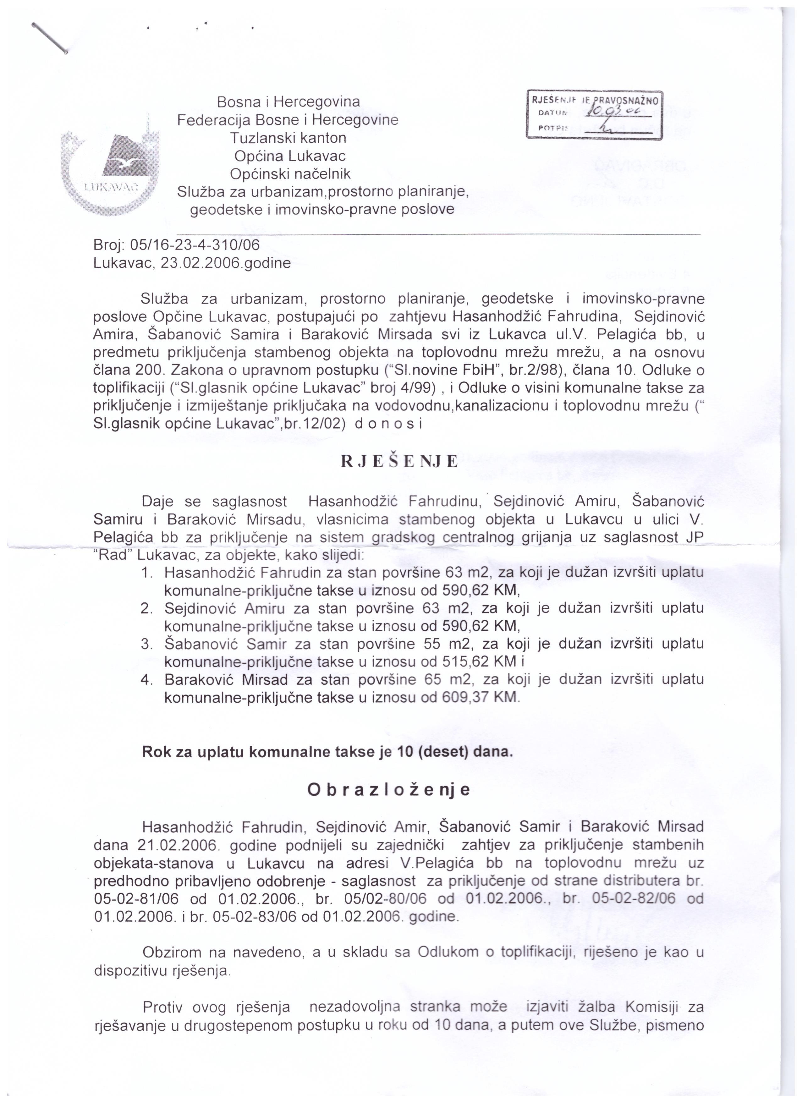 SDA Lukavac: Pritisci na radnom mjestu od strane načelnika Delića na Amira Sejdinovića i njegovu porodicu ne prestaju