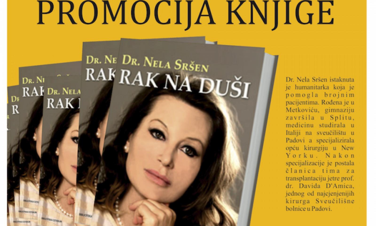 """Promocija knjige """"Rak na duši"""" dr. Nele Sršen"""