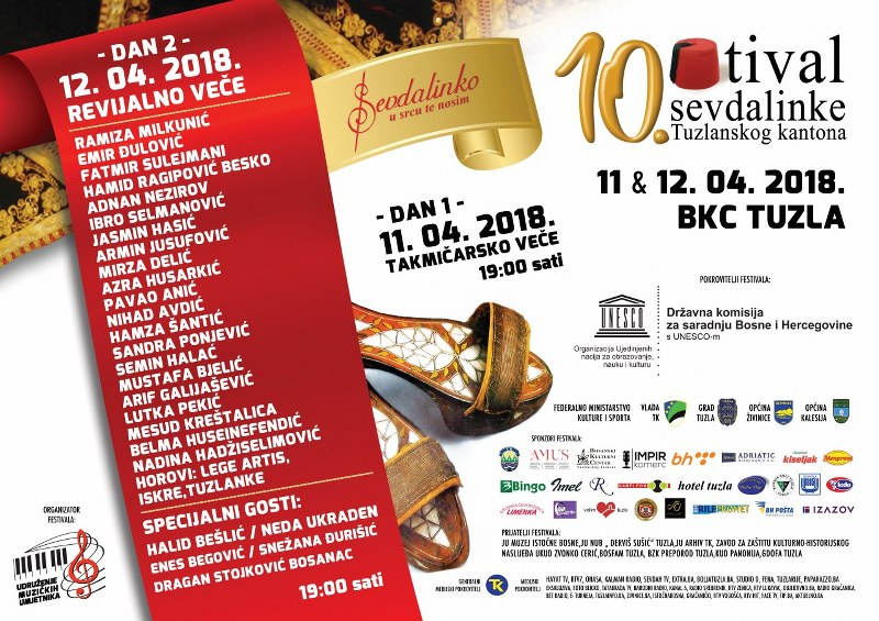 Halid, Neda, Ramiza, Enes i Snežana garantuju nezaboravan Festival sevdalinke
