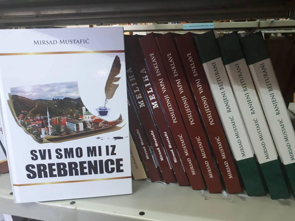 """Najava promocije novog romana Mirsada Mustafića """"Svi smo mi iz Srebrenice"""""""