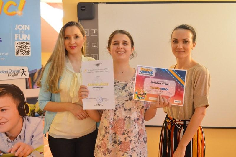 "Završena  ovogodišnja kampanja ""Young Heroes – Readers are Leaders "", polaznika Helen Doron Centra Tuzla"