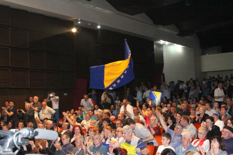 Svečanom akademijom u Tuzli obilježena 22.godišnjica Stranke za BiH