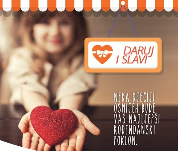 """Najava početka kampanje """"Daruj i slavi"""""""