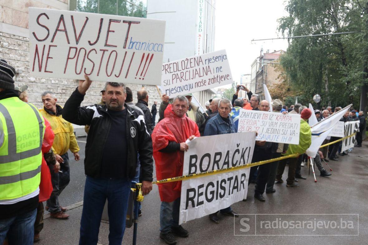 Demobilizirani borci danas ponovo na ulicama, okupljanje planirano u podne
