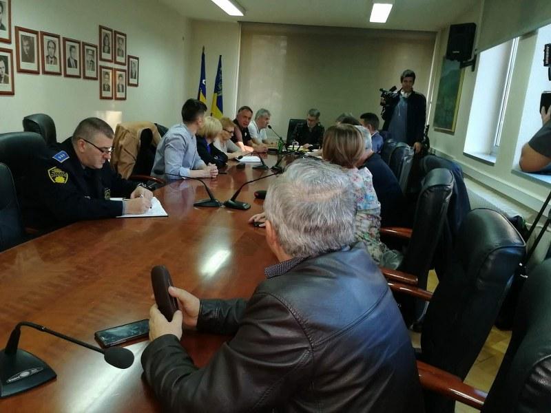 Održana hitna sjednica Gradskog štaba civilne zaštite Tuzla