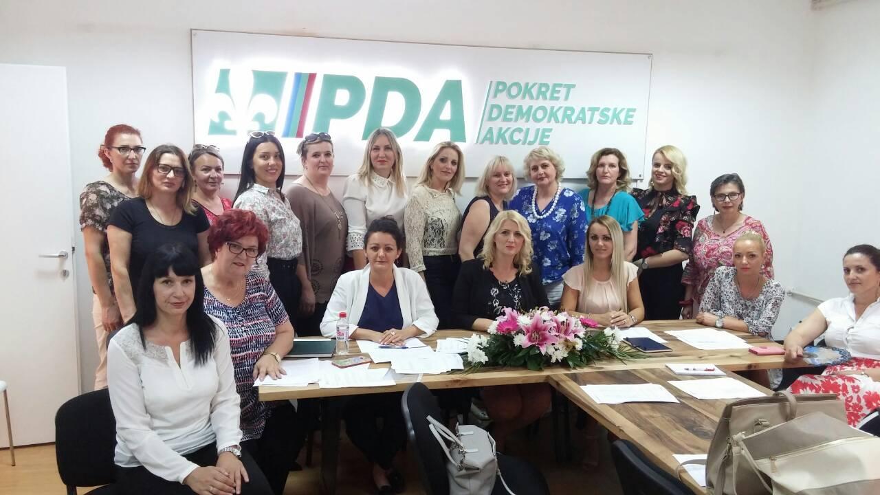 Hidajeta Jarčević izabrana za predsjednicu Povjereništva GO PDA