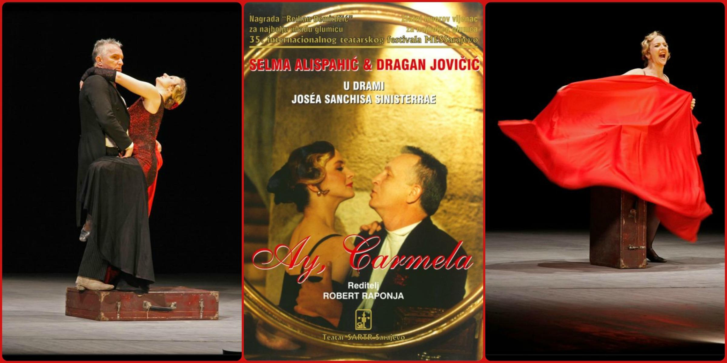 "Kultna bh. predstava ""Ay Carmela"" večeras u BKC-u Živinice"