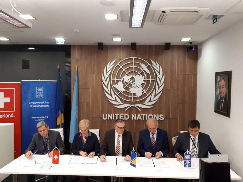 Grad Tuzla potpisnik Pisma sporazuma o implementaciji projekta općinskog okolišnog i ekonomskog upravljanja