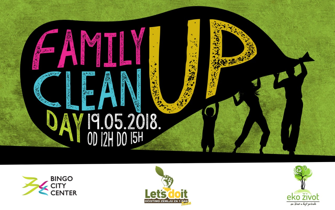 Let's Do It Tuzla: Family Day u Bingo City Center