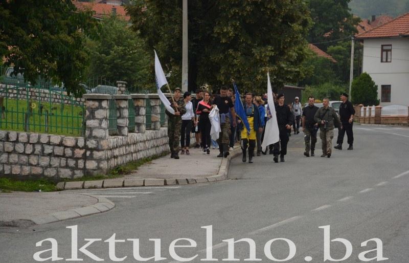 """Gornjotuzlanski """"Marš sjećanja"""" kao čin borbe protiv zaborava"""