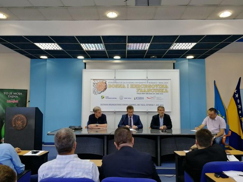 Konstituisan Organizacioni odbor košarkaške utakmice muških reprezentacija BiH- Francuske