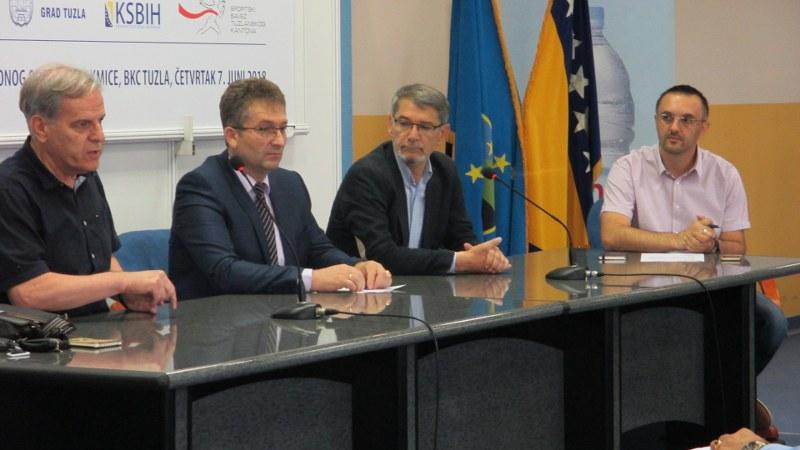 Podrška Vlade TK u organizaciji utakmice BiH – Francuska