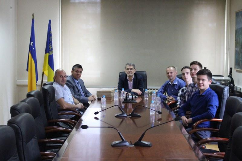Gradonačelnik Imamović upriličio prijem za pobjednike drugog IT takmičenja