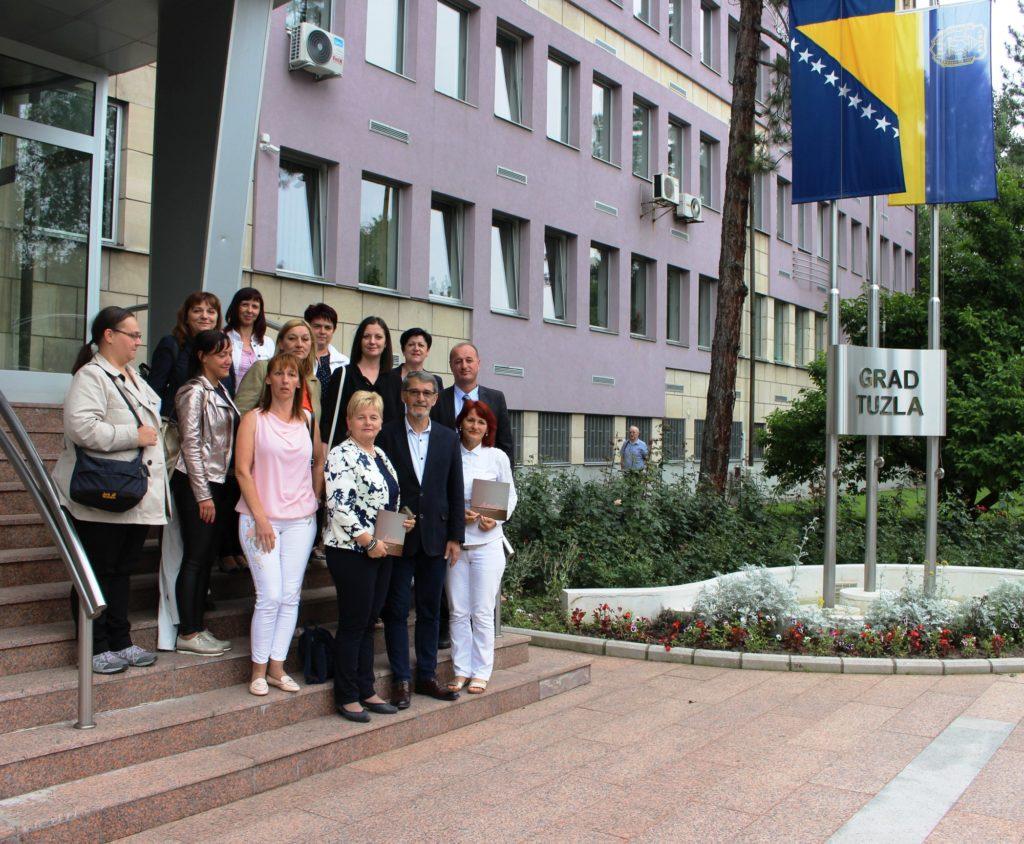 Delegacija Općine Črnomelj u posjeti Gradu Tuzla