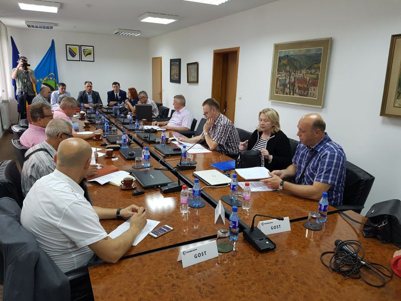 Sastanak pomoćnika kantonalnih ministara za saobraćaj sa predstavnicima Federalnog ministarstva prometa i komunikacija