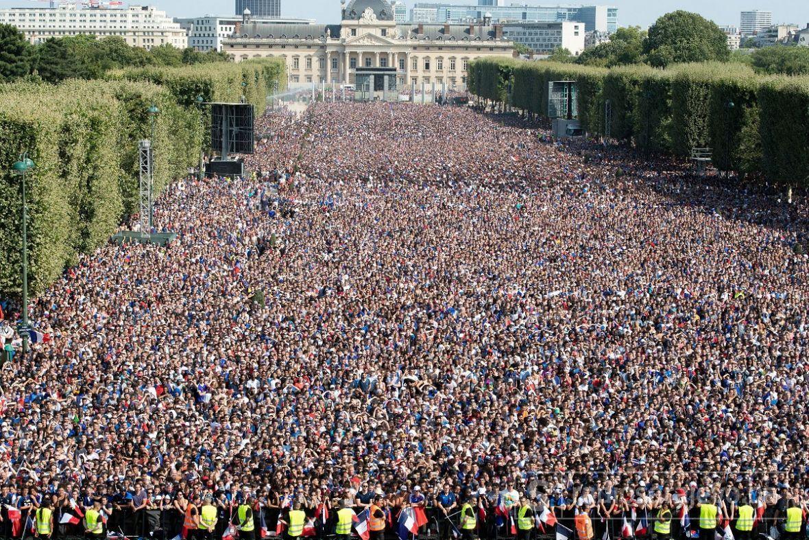 "Veliko slavlje Francuza: ""On est les champions"""