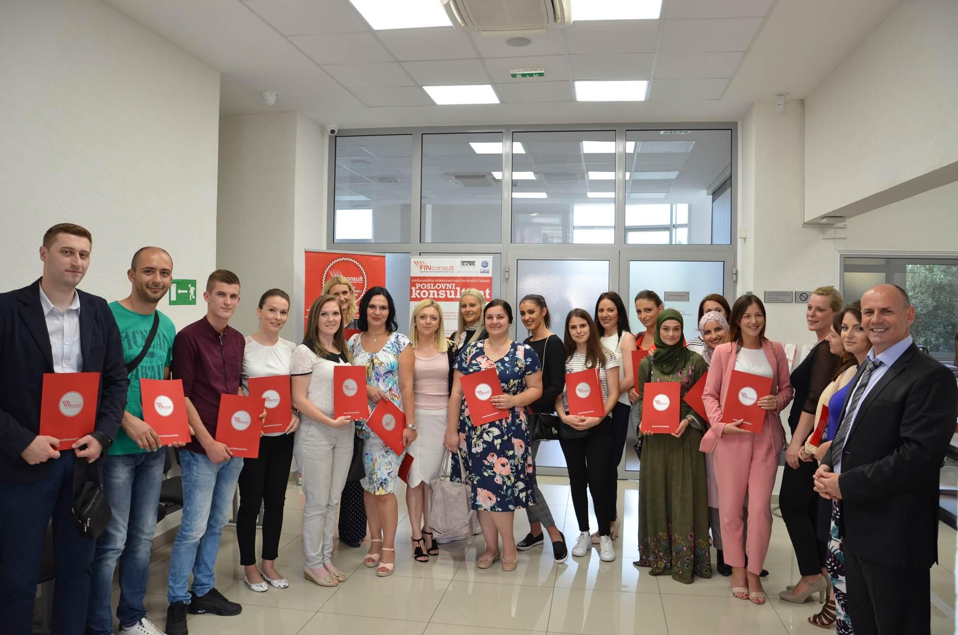 Završen 29. ciklus Edukacije za vođenje poslovnih knjiga u Sarajevu i Tuzli